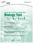 GRE Biology Practice Test Book